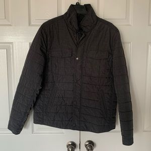 Mens Marc Anthony Lightweight Quilted Shirt Jacket